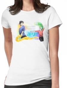 Victuuri - Yuri on Ice (watercolor) Womens Fitted T-Shirt