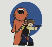 Han and Chewie Mini by movingpixels