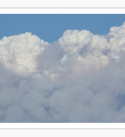 Smoke from Wildfire in El Dorado County Sticker