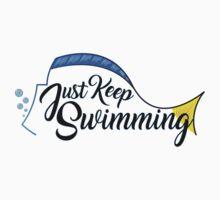 Dory, Just Keep Swimming! Kids Tee