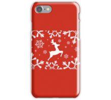 Snowy Reindeer iPhone Case/Skin