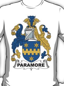 Paramore Coat of Arms (English) T-Shirt
