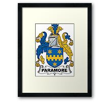 Paramore Coat of Arms (English) Framed Print