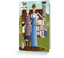 Farming in KRICKET KOUNTRY.....Life's good!   Life's sweet! Greeting Card