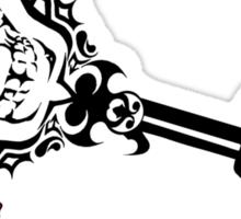 Death gods roam the Kingdom-noOutline Sticker