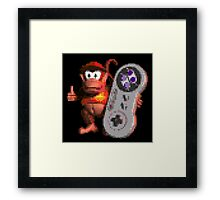 Diddy Has Control Framed Print