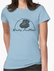 Walt Giggity Womens Fitted T-Shirt