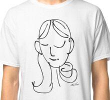 sem·i·co·lon girl Classic T-Shirt