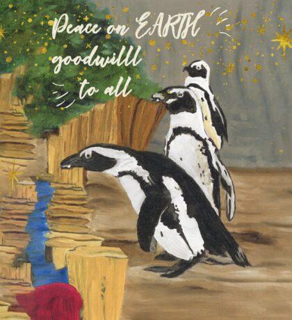 Penguin Wishes Sticker
