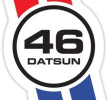 Vintage Datsun Racing Livery Sticker