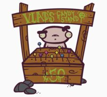 Vlad's Candy Stand by artdyslexia