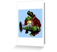 Captain K. Rool Greeting Card