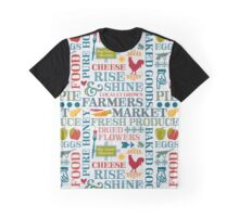 Farmers Market Graphic T-Shirt