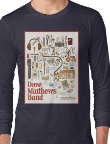 Dave Matthews Band, Tour 2016, The Gorge Amphitheatre George WA Long Sleeve T-Shirt