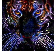 fairy neon tiger Photographic Print