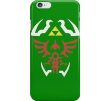 Zelda Triforce/Hylian Shield Design 2 iPhone Case/Skin