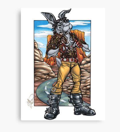 Spike Bunny Canvas Print