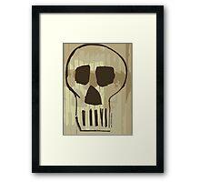 Dead Man Talking...... Framed Print