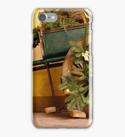 Christmas Wagon iPhone Case/Skin