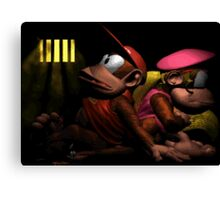 This is like prison! Canvas Print