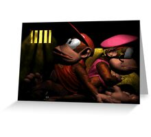 This is like prison! Greeting Card