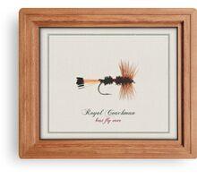 Royal Coachman Canvas Print