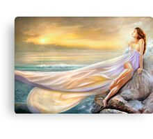 RAPTURE IN MIDST OF THE SEA Canvas Print