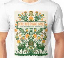 Dave Matthews Band, Tour 2016, SARATOGA PERFORMING ARTS CENTER SARATOGA SPRINGS NY Unisex T-Shirt