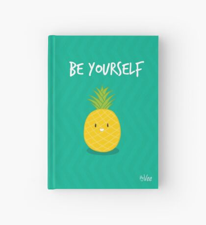 Be yourself Hardcover Journal