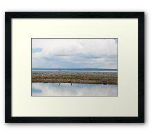 Landscape, Mongolia Framed Print