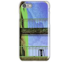 The Chair on the Balcony iPhone Case/Skin