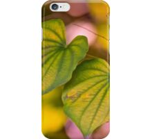 Two Hearts That Beat As One iPhone Case/Skin