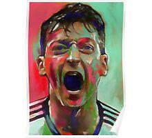 Mesut Ozil - Ya Gunners Ya Poster
