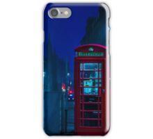 Telephone Cabin, Edinburgh iPhone Case/Skin