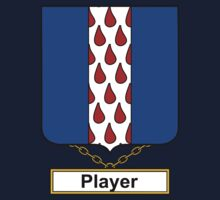 Player Coat of Arms (English) Kids Clothes