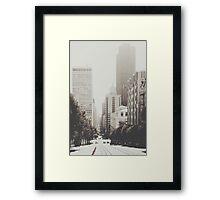 San Francisco I Framed Print