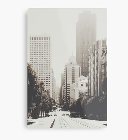 San Francisco I Metal Print