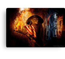 Palin, The Face Of The New Revolution Canvas Print