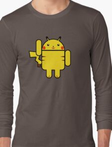 Electro Droid Long Sleeve T-Shirt