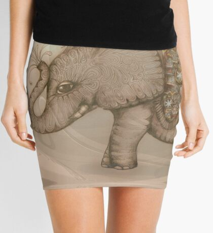 Magic Elephant Mini Skirt