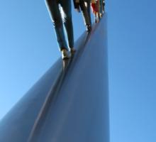 Walking to the Sky — Carnegie Mellon Sticker