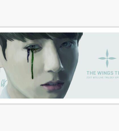 BTS WINGS Tour Trailer - Jungkook Sticker