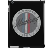 Ford Mustang 1965 vintage grunge style iPad Case/Skin