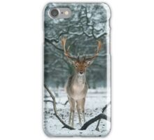 Christmas  Stag 5 iPhone Case/Skin