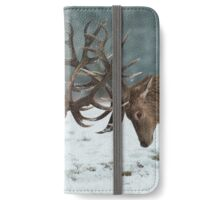 Christmas  Stag 7 iPhone Wallet/Case/Skin