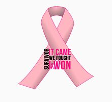 Breast Cancer Pink Ribbon Awareness Unisex T-Shirt