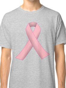 Breast Cancer Pink Ribbon Awareness Classic T-Shirt