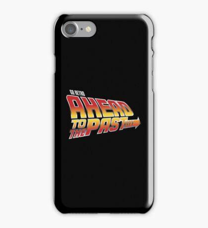 Go Retro - Ahead To The Past iPhone Case/Skin