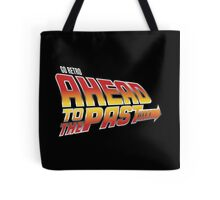 Go Retro - Ahead To The Past Tote Bag