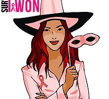 Breast Cancer Pink Ribbon Awareness by mralan